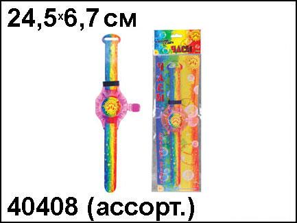 АКЦИЯ19 Игр Мыльные пузыри 20мл Часы