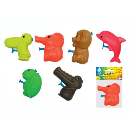 АКЦИЯ19 Игрушка пластмассовая Брызгалка Животные