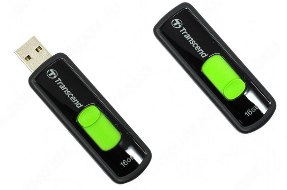 Флэш-карта USB 16GB Transcend JetFlash 500 черная