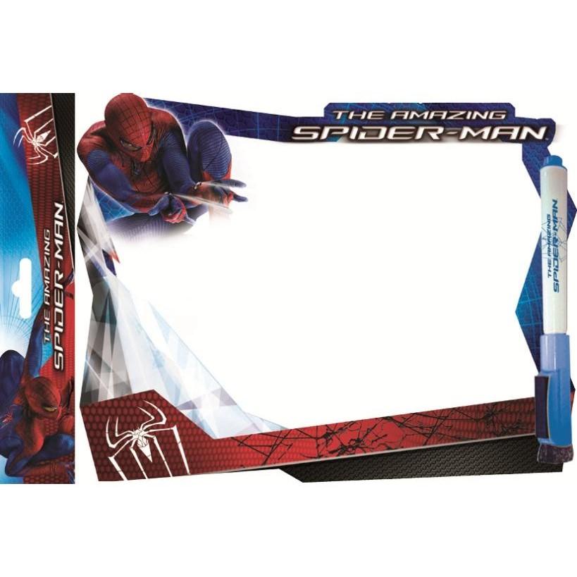 Доска маркерная детская А4 Spiderman + маркер (фигурная)