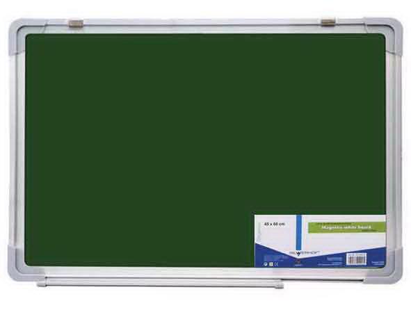Доска магнитно-меловая 900*1200 зеленая