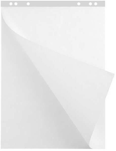 Блок бумаги для флипчарта 60*90 20л белый