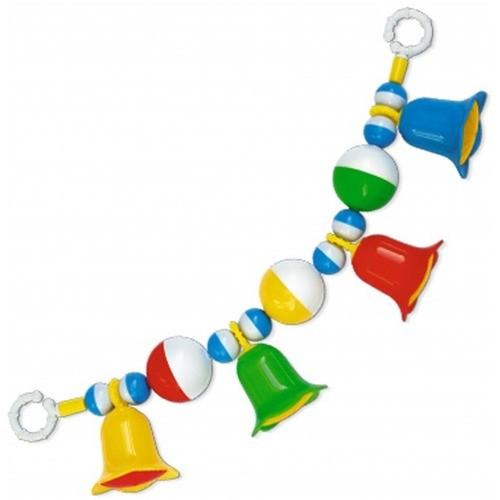 Погремушка Подвеска на коляску с шариками и колокольчиками