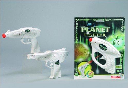 АКЦИЯ19 Игрушка пластмассовая Космический звуковой пистолет