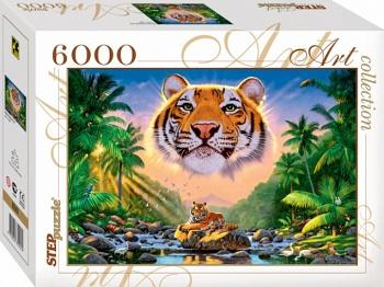Пазл 6000 Step Величественный тигр