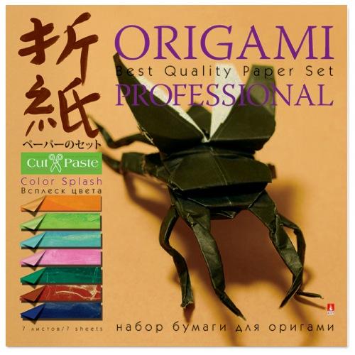 Бумага для оригами 20*20 7л Всплеск цвета