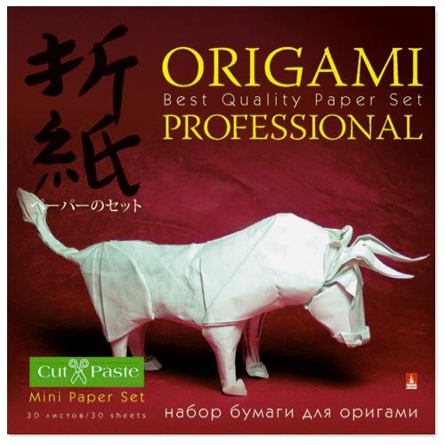 Бумага д/оригами 10*10 30л