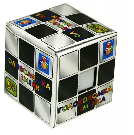 АКЦИЯ19 Игрушка Головоломка Кубик 5см Змейка