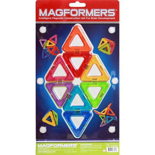 АКЦИЯ19 Игр Конструктор магнитный Магформерс Треугольники 8