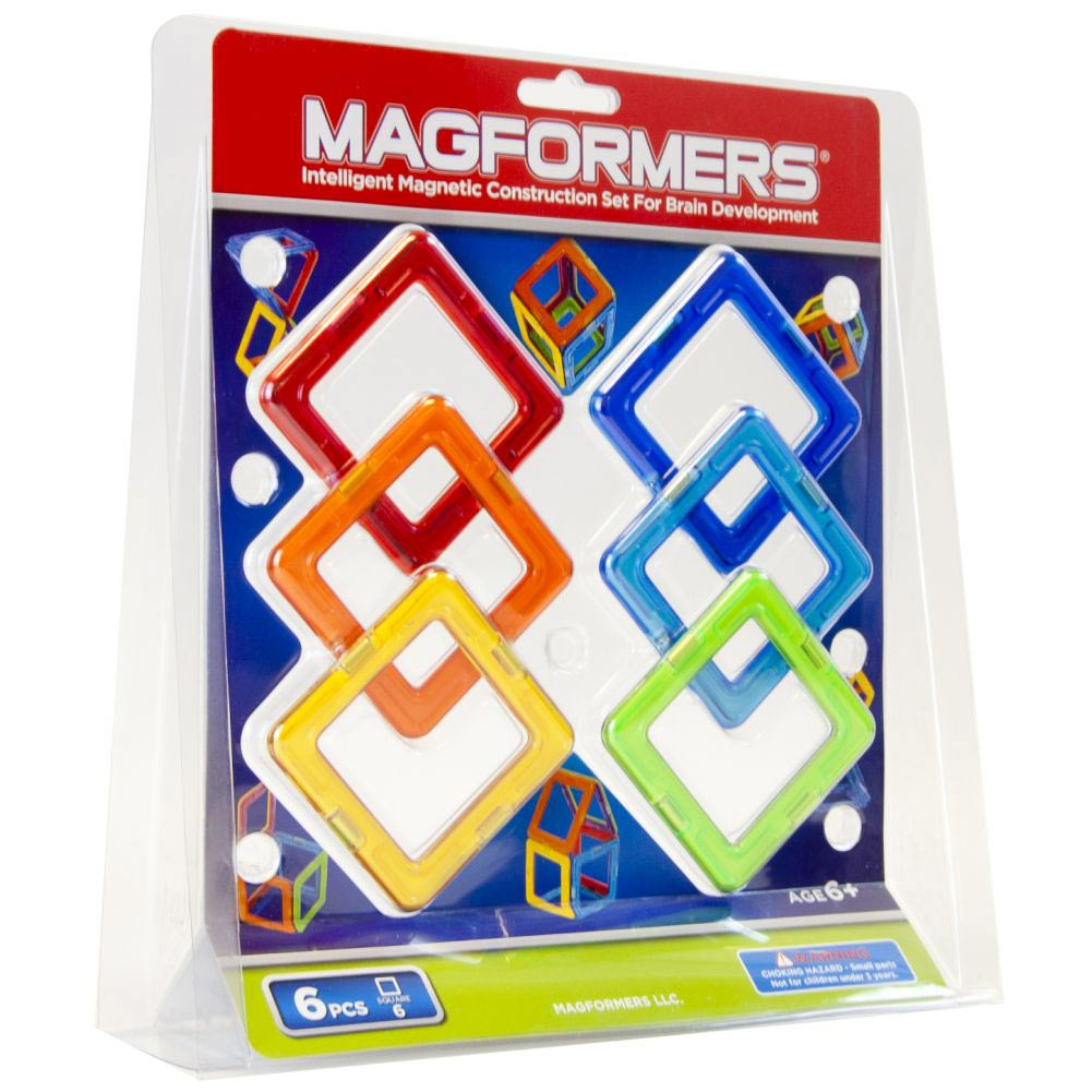 АКЦИЯ-20 Игр Конструктор магнитный Магформерс Квадраты 6
