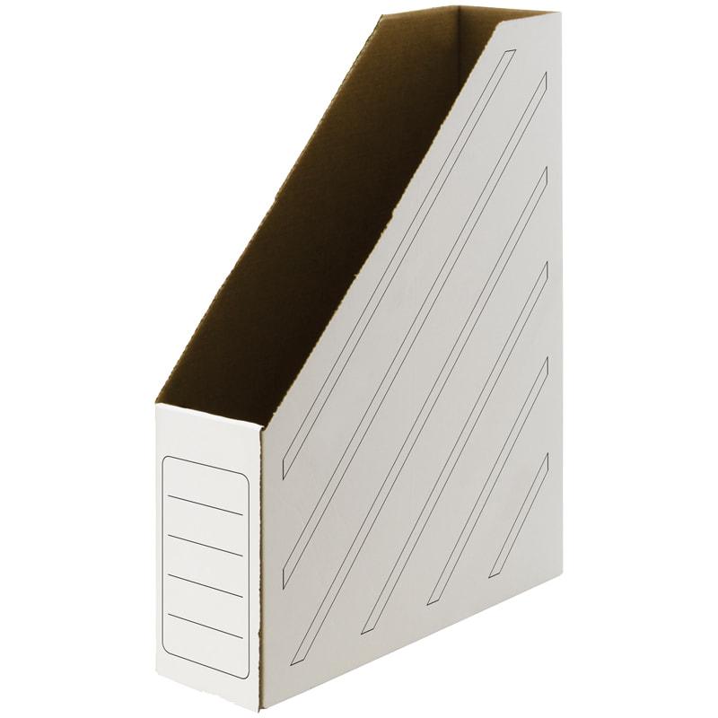 Лоток верт 1отд картон бумажный гофро картон белый 75мм