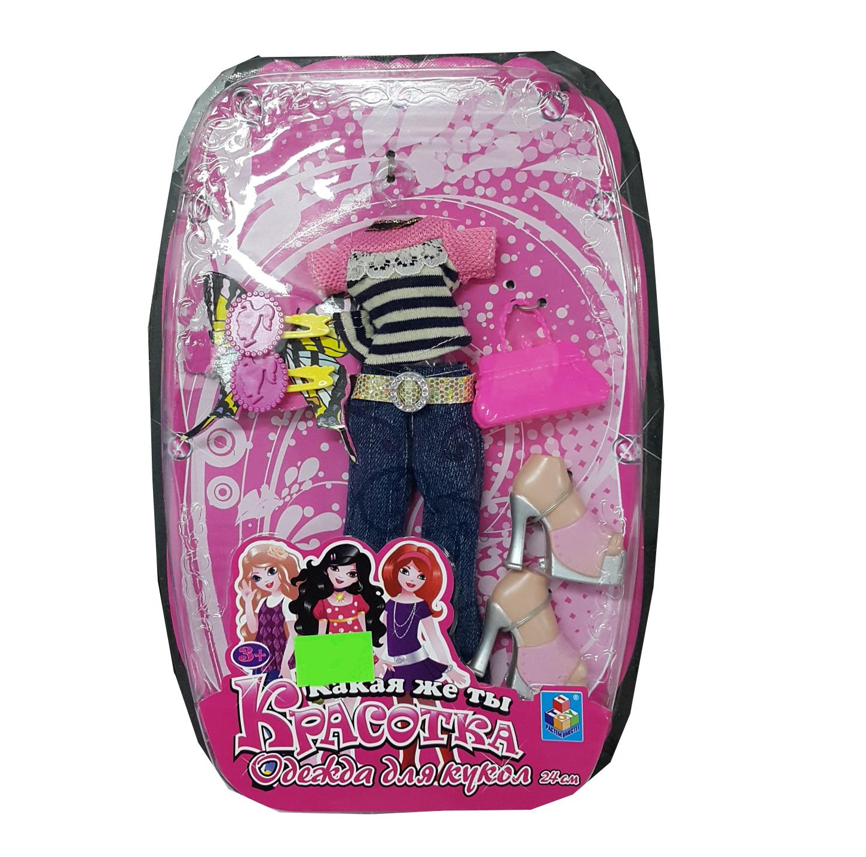 АКЦИЯ19 Одежда для кукол Красотка 24 см.