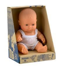 Кукла Пупс Мальчик европеец 21см