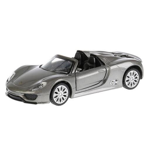 Машина Porsche 918 Spyder 1:41, открыв. двери, инерц. метал