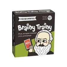 Игра Настольная Brainy Trainy Экономика головоломка
