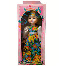 Кукла Василина хохлома 45см
