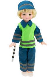 Кукла инспектор ДПС 45см