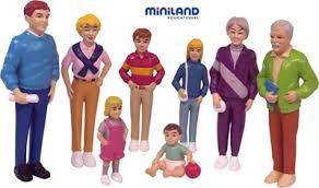 Кукла набор: Европейская семья