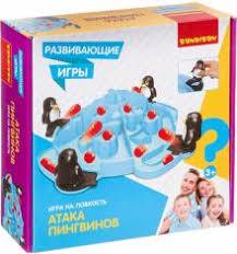 Игра Настольная Атака пингвинов