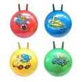 Мяч прыгун Звери на транспорте 55 см, с рожками, в ассорт