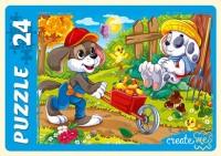 Пазл Maxi 24 Забавные щенки