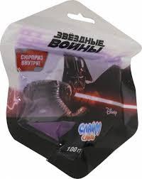 Слизь Слайм Звёздные войны с фигурками в пакете 100гр