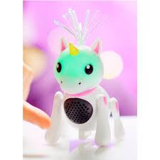 Интерактивная Единорог звук, воспр/звука ч-з Bluetooth, ремешок, USB 5V