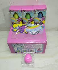 Набор Домашний инкубатор Яйцо с раст. единорогом 4,5*6,5см