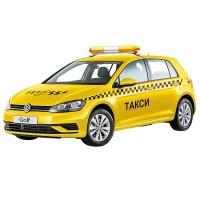 Машина Такси 12см, открыв. двери и багажник, инерц. металл