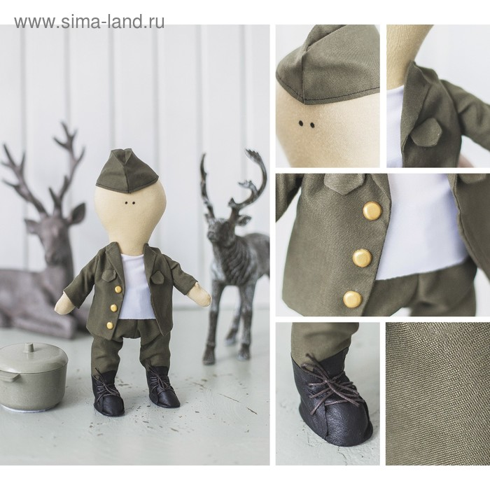 Творч Набор для шитья Кукла Питер 18*22.5*2.5см