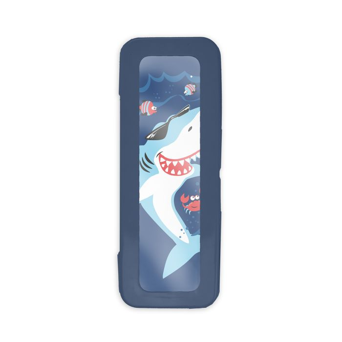 Пенал металлический Акула