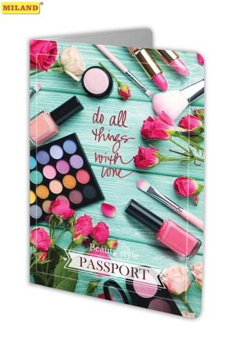 Обложка для паспорта Miland ПВХ slim Женские секреты