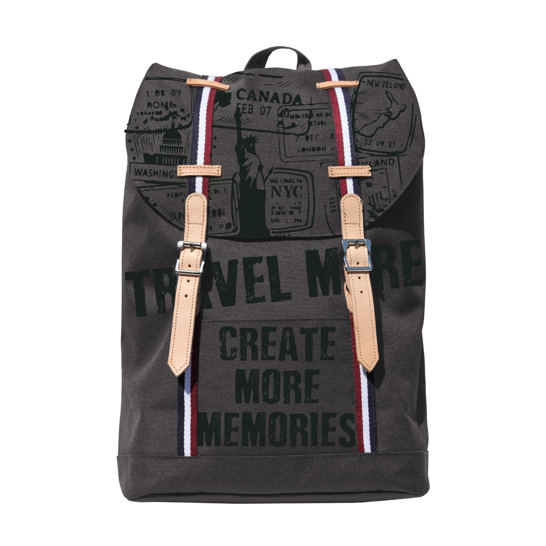 Рюкзак молодежный BV Travel серый