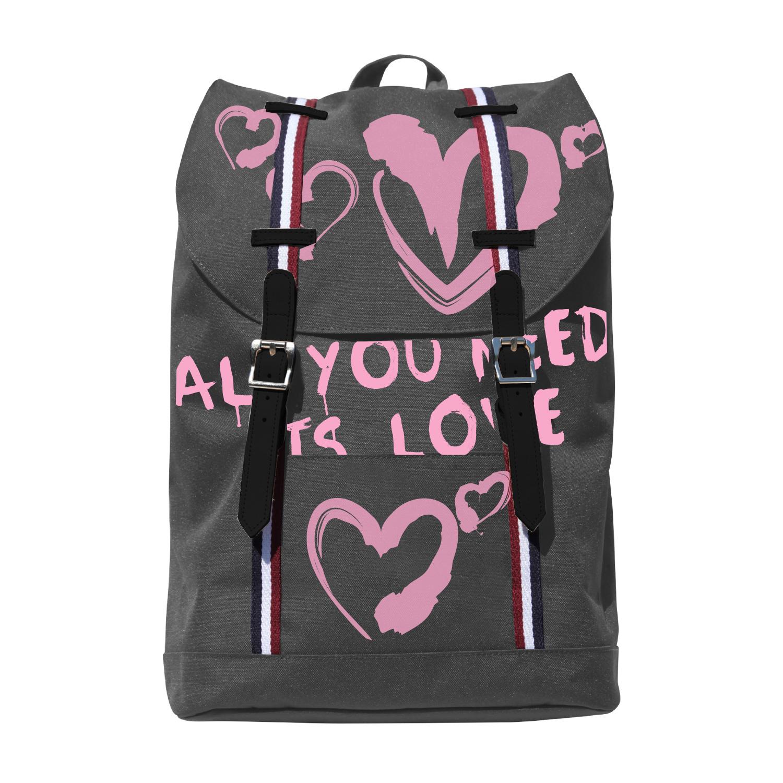 Рюкзак молодежный BV Влюбленные сердца