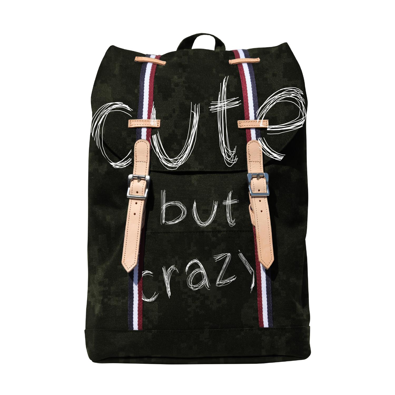 Рюкзак молодежный BV Камуфляж Crazy
