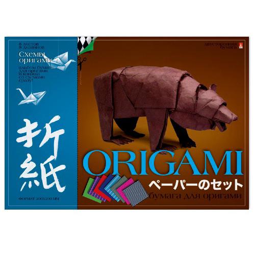 Творч Бумага д/оригами А4 8л Вид 2 со схемами
