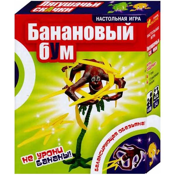 Игра АКЦИЯ19 Игр Настольная Банановый бум