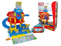 АКЦИЯ-20 Игр набор Паркинг с автомобилями (3 уровня) пластмас.