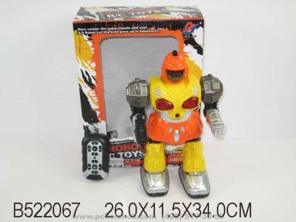 Игрушка пластмассовая Робот Спасатель радиоуправляемый 30 см.
