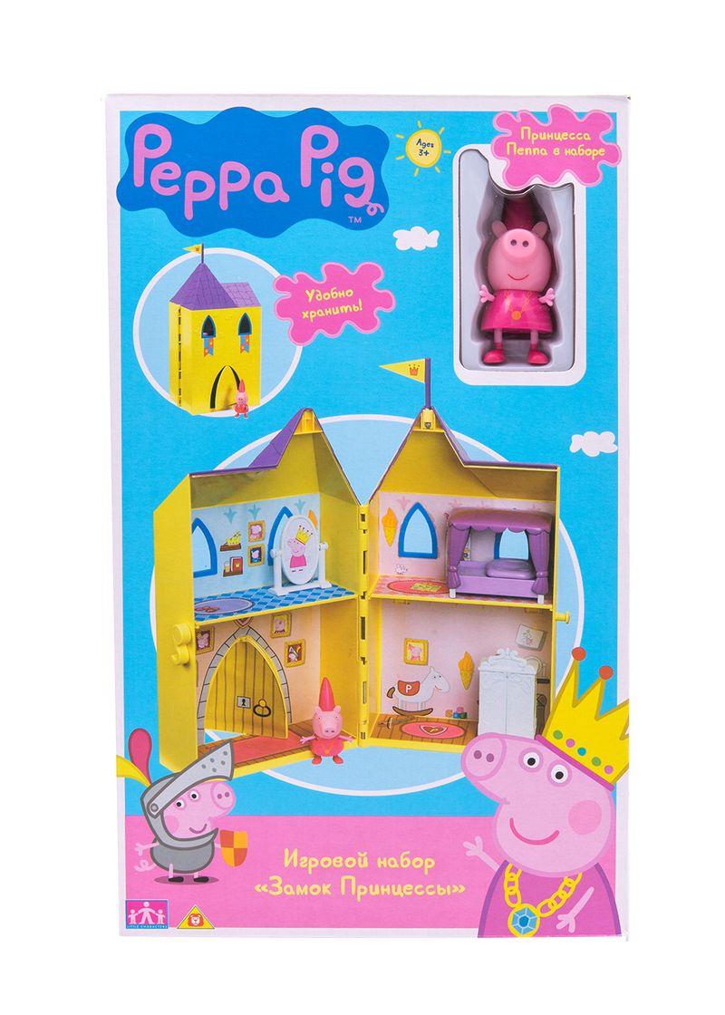 АКЦИЯ-20 Игр набор Замок принцессы Peppa Pig