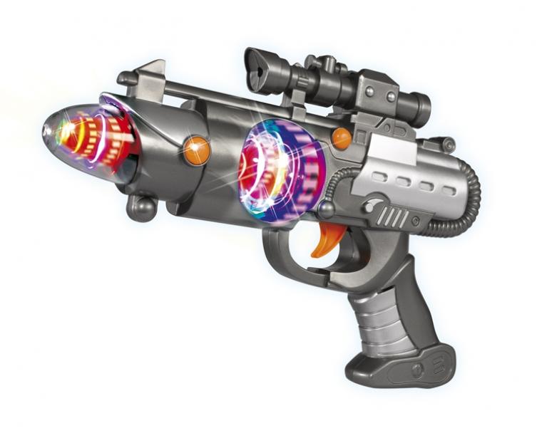 АКЦИЯ19 Игрушка пластмассовая Космическое оружие