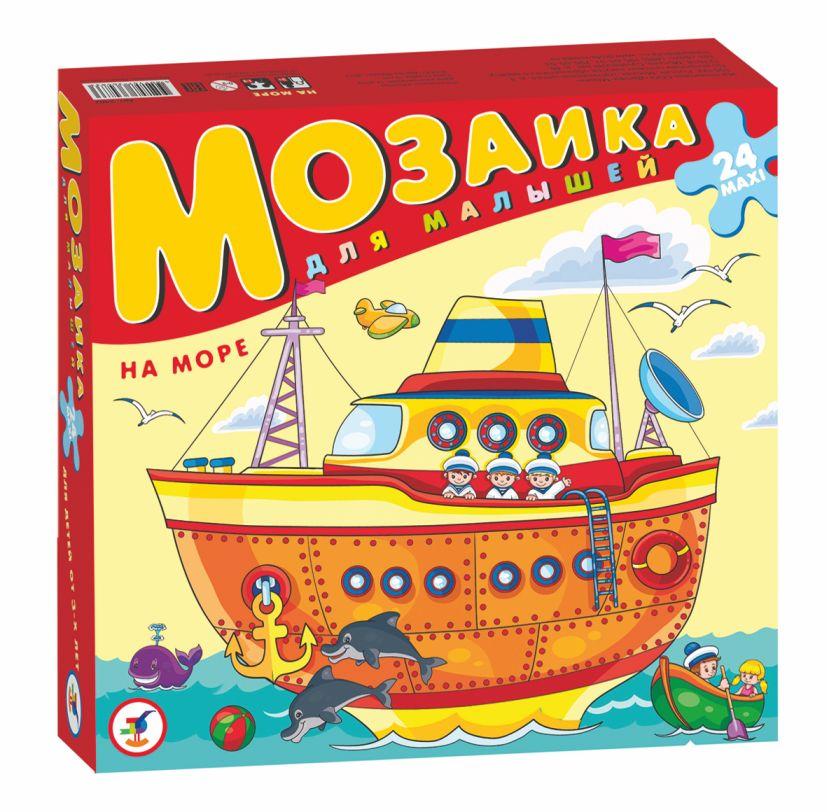 Игра АКЦИЯ19 Игр Мозаика для малышей. На море: 24 maxi
