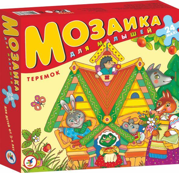 Игра АКЦИЯ19 Игр Мозаика для малышей. Теремок: 24 maxi