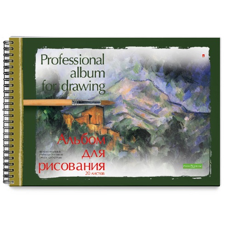 Альбом д/рис 20л спир Профессиональная 160г/м2