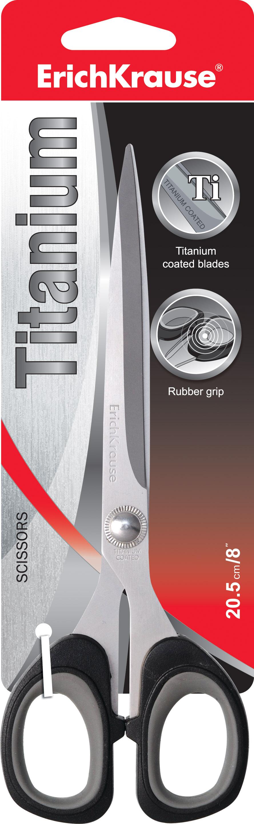Ножницы 205 мм EK Titanium