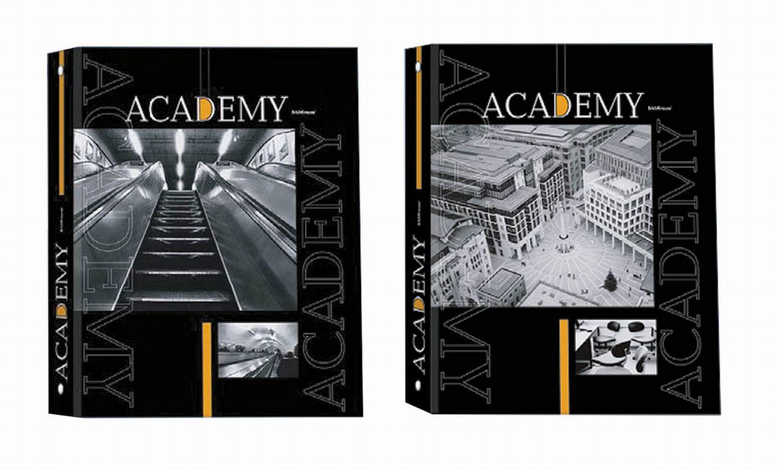 Тетрадь на кольцах Academy