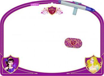 Доска д/рисования 34*25 Proff Волшебные принцессы (маркер + губка)