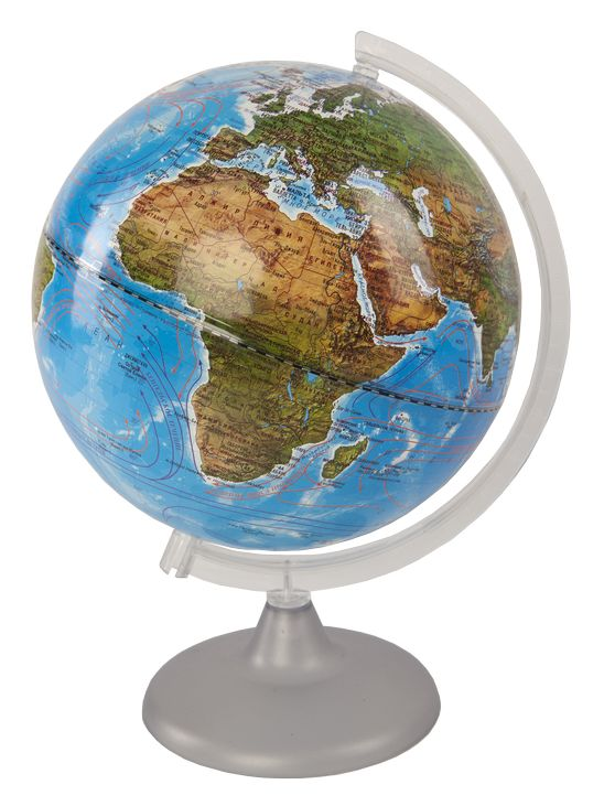 Глобус d-25 ландшафтный М 1:50 000 000
