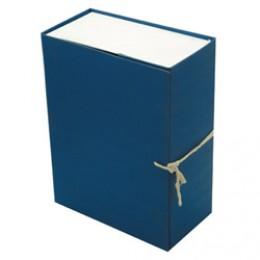 Папка-короб архивная 150мм картон цветной