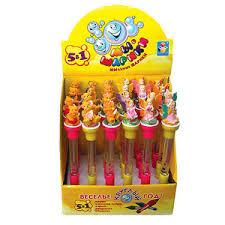 АКЦИЯ19 Игр Мыльные пузыри Мы-шарики! Ручка с подсветкой, печатью и фигурко